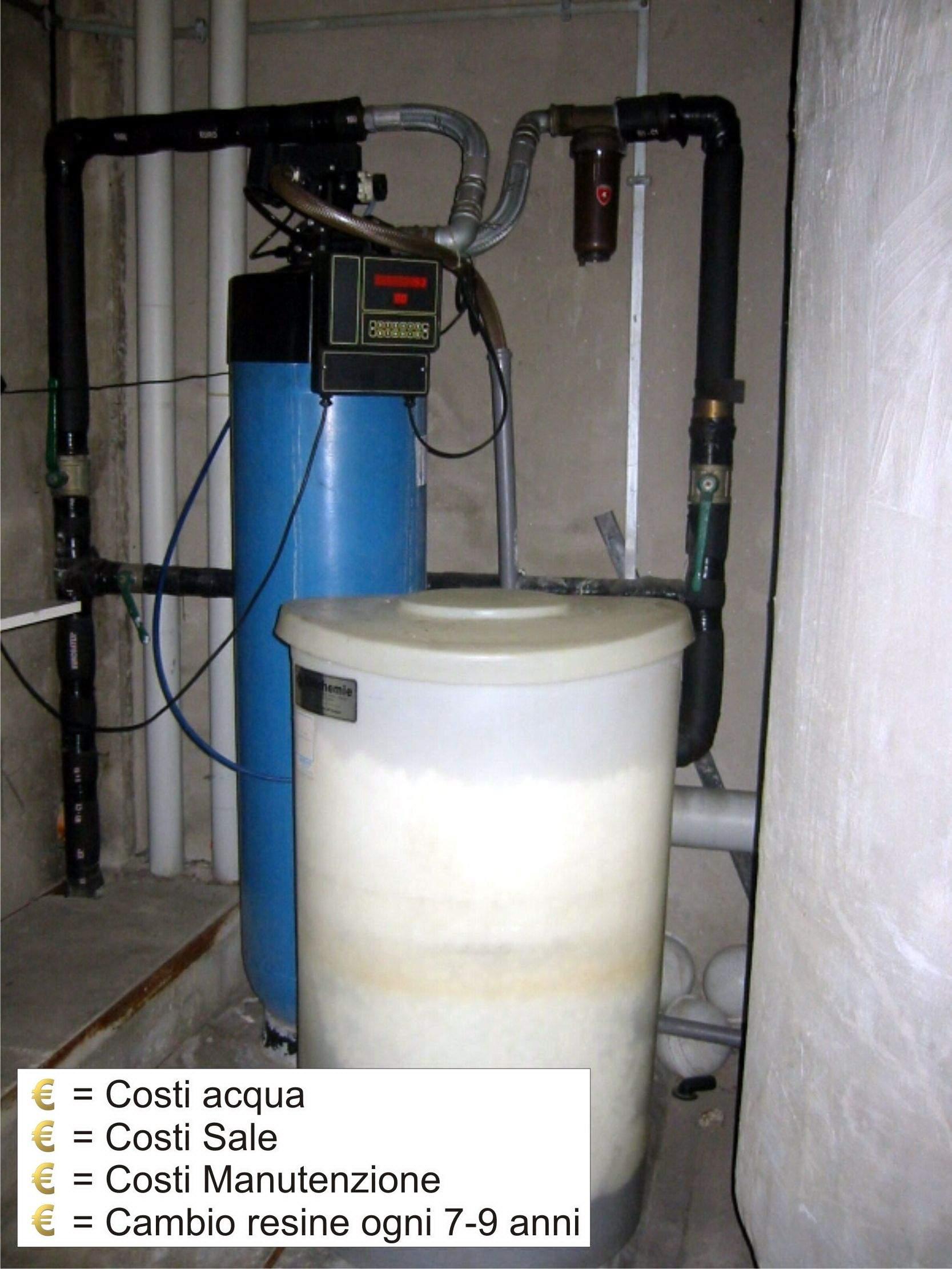 Costi di gestione a confronto addolcitore vs kalko tronic - Addolcitore acqua casa ...