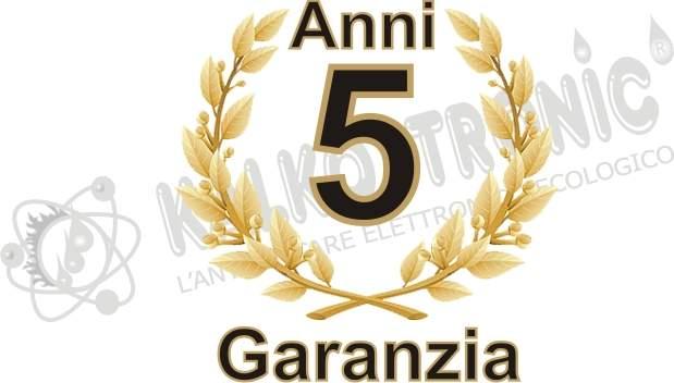 Garanzia 5 anni KalkoTronic