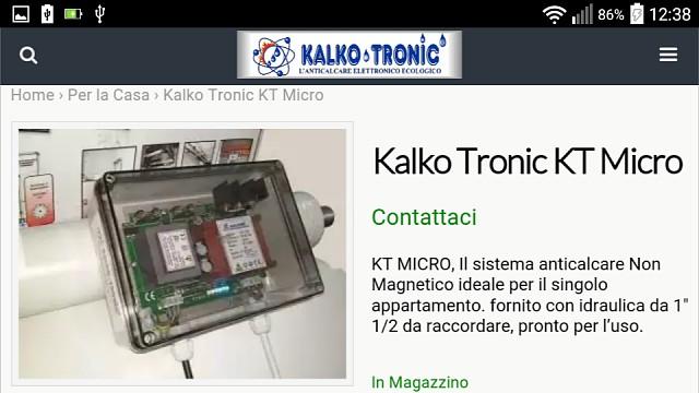 Mobile - scheda prodotto