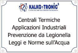 Industria, Centrali Termiche, Legionella, Leggi e Norme sull'Acqua