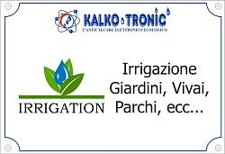 Irrigazione possibile con Kalko Tronic