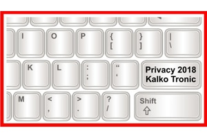 Privacy 2018 by Kalko Tronic