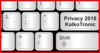 Pulsante Privacy Kalko Tronic News Maggio 2018