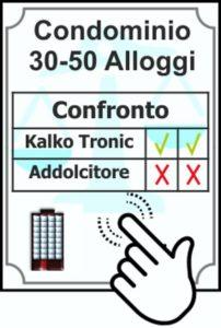 Confronto Addolcitore vs Kalko Tronic 30-50 Appartamenti