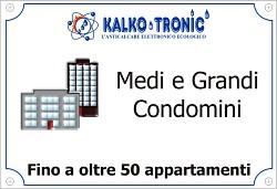 impianto per un condominio o più condomini