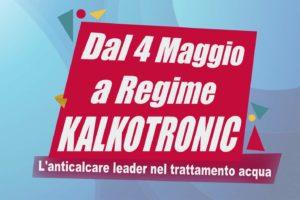 Dopo Lock Down, l'anticalcare Kalko Tronic riparte